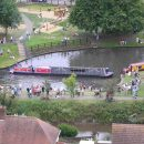 Hadar at the reopening of the Droitwich Canals 2011