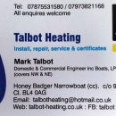 talbotheatingbusinesscard